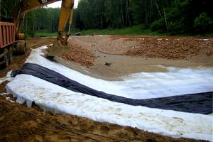 геотекстиль под песок