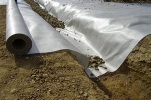 Использование геотекстиля в строительстве