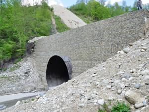 Основные параметры, свойства и функции габионов для тоннелей