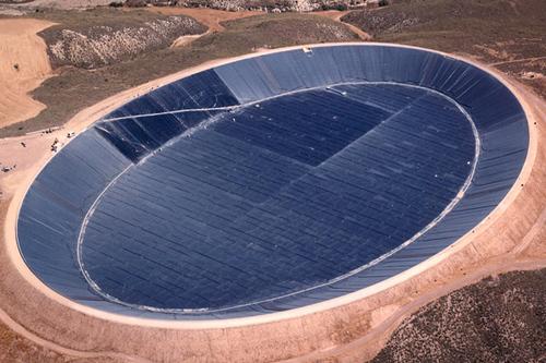 Геомембранные технологии в создании резервуаров и водоемов