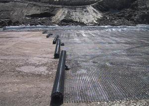 Геосетка в строительстве стояночных площадок