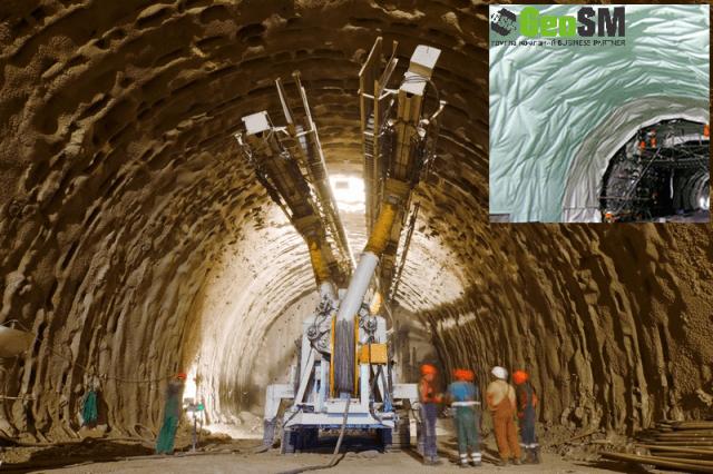 Геосинтетики в тоннельном строительстве