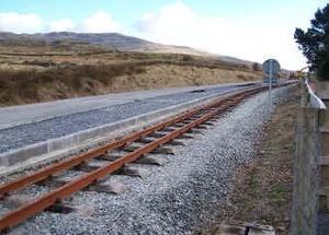 Геотекстиль 500, 550, 600 для железных дорог