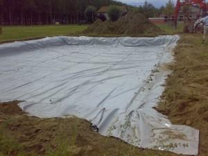 Геотекстиль под газон – технология укладки