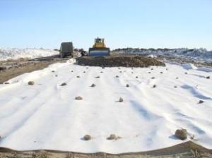 Геотекстиль способен армировать мелкозернистую почву