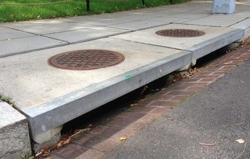 Как используется геотекстиль в системе ливневой канализации
