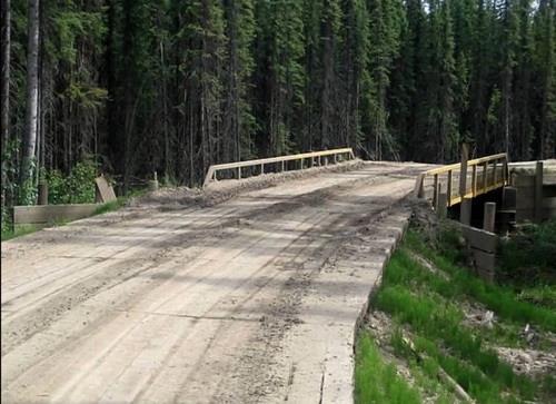 Конструкции временных дорог на слабых основаниях