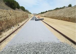 Купить геотекстиль 500, 550, 600 для железных дорог