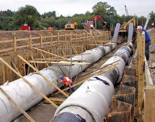 Купить геотекстиль для трубопроводов