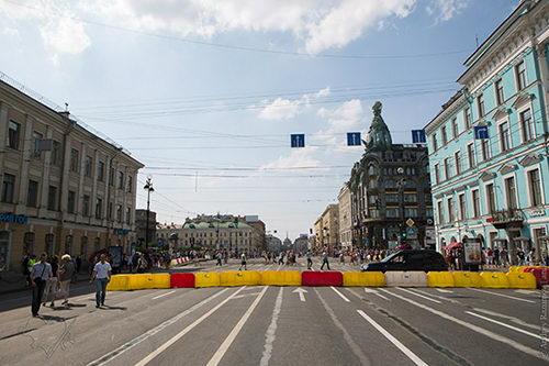 На реконструкцию Невского проспекта в Санкт-Петербурге будет потрачено более 219 млн рублей