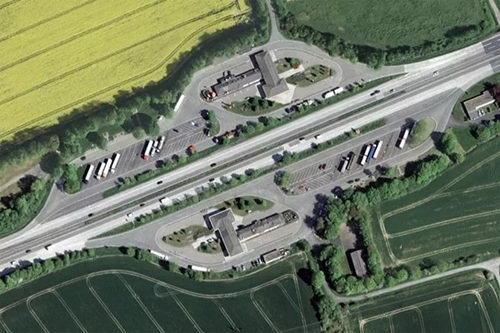 На трассе М-4 Дон в Подмосковье заработала комплексная площадка для отдыха