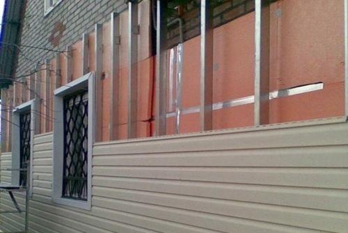 Применение листов ПНД для фасадных работ