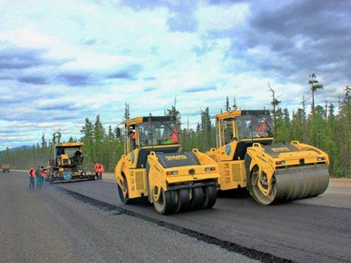 Ремонт на трассе А-360 «Лена» в Якутии
