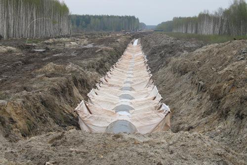 Купить дорнит для балластировки труб от производителя в Москве и регионах