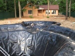 Применение геотекстиля в гидротехнике
