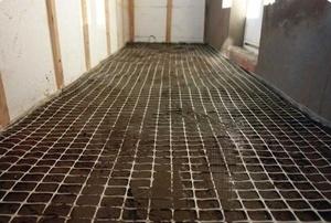 Преимущества армирования бетона геосеткой