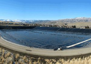 Технология строительства больших водоемов
