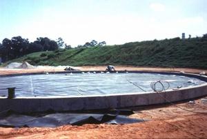 Геомембраннные материалы для создания резервуаров и водоемов
