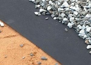 Применение геотекстиля в строительных работах.