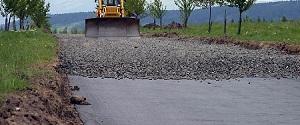 Геотекстиль Геофлакс для дорожного строительства