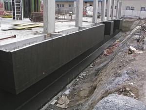 Геомембраны для гидроизоляции бетонного основания