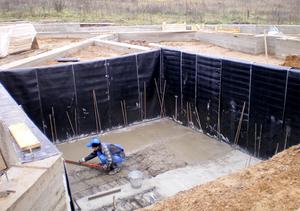 Причины необходимости гидроизоляции котлованов