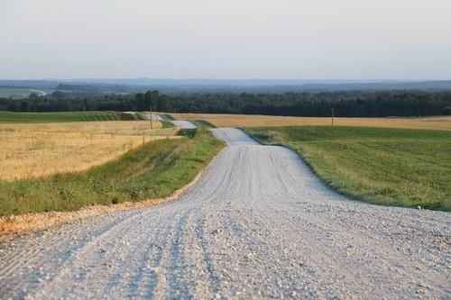 Как построить гравийную дорогу
