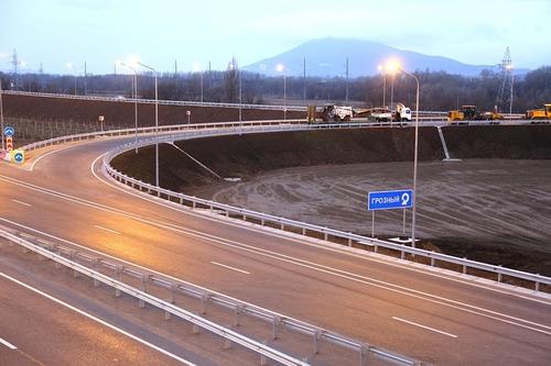Закончен капитальный ремонт двух участков трассы М-29 «Кавказ»