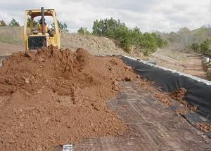 Использование геотекстиля в дачном строительстве