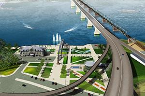 мост новосибирск