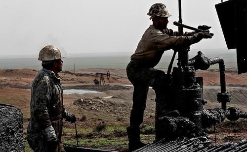 нефтеразведка сирия