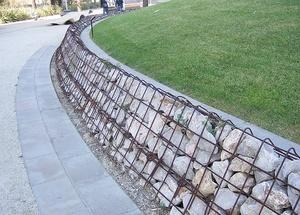 Типы подпорных стен