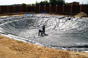 Технология строительства искусственных прудов
