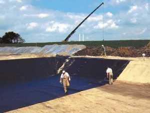 Строительство котлованов с гидроизоляцией из геомембраны