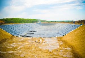 Строительство рыбных ферм с гидроизоляцией из геомембраны