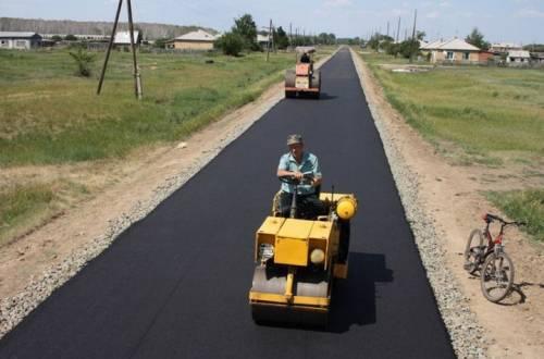 Строительство сельских дорог в регионах