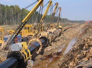 Этапы строительства магистрального трубопровода