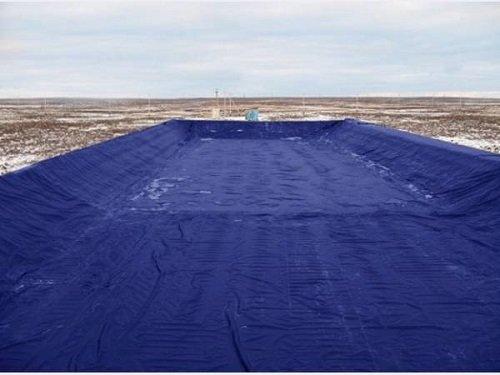 Нефтяной амбар – изоляционные работы