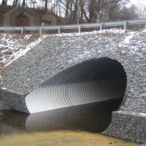 Применение и виды габионов в тоннелестроении