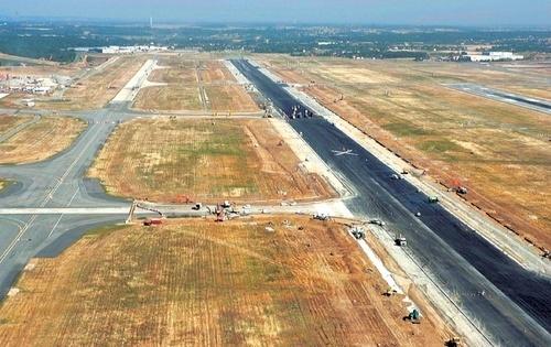 Геотекстиль  550, 600 для аэропортов