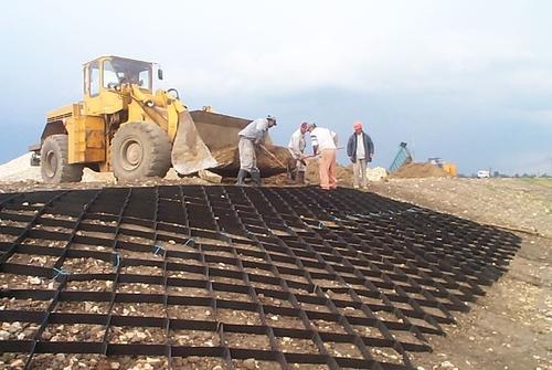 Купить георешетку для армирования грунта от производителя в Самаре