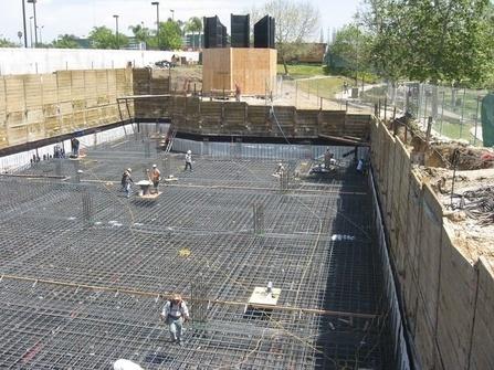 Применение геотекстиля для фундамента многоэтажных зданий