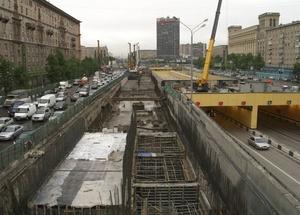 Северо-Западная хорда в Москве строительство