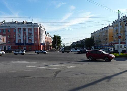Строительство новых участков дорог в Барнауле