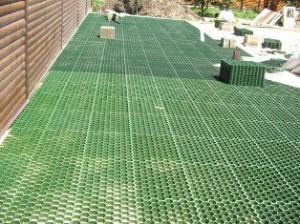 Важные моменты при укладке газонной решетки