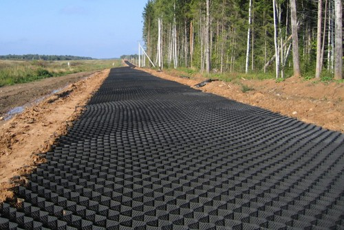 Купить георешётку для дорог в Москве и регионах