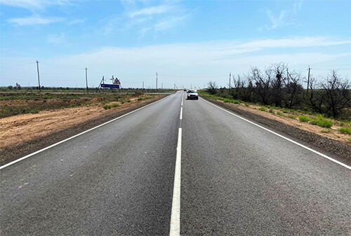 Два района Астраханской области соединит новая дорога
