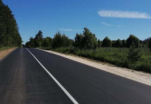 Досрочно завершены работы на участке трассы Судогда — Чамерево