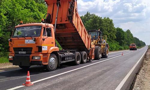 В Татарстане завершили ремонт дороги Альметьевск — Азнакаево