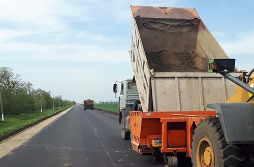 НаСтаврополье отремонтировали дорогу между двумя селами